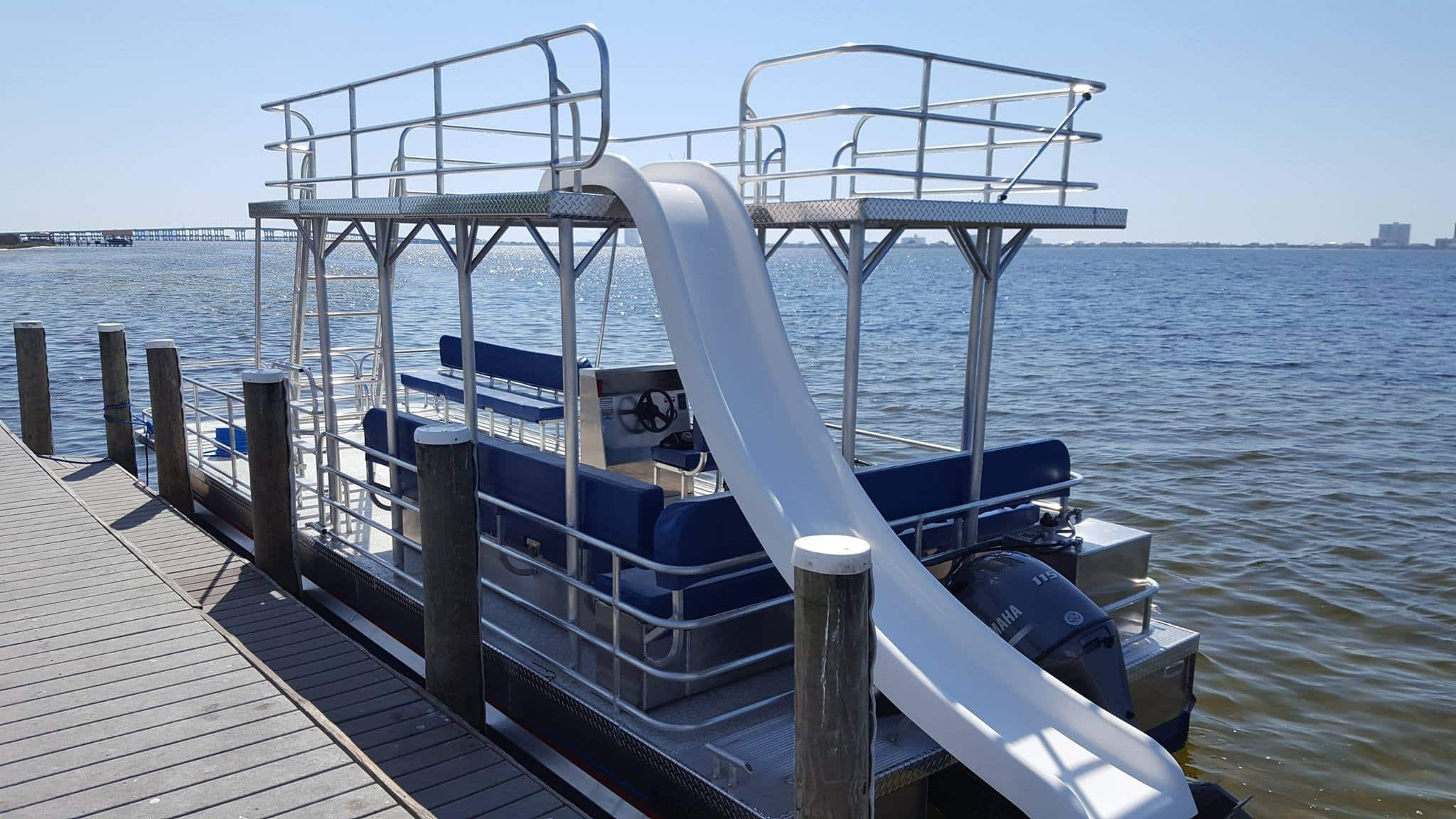 Pensacola Beach Pontoon Boat Rentals
