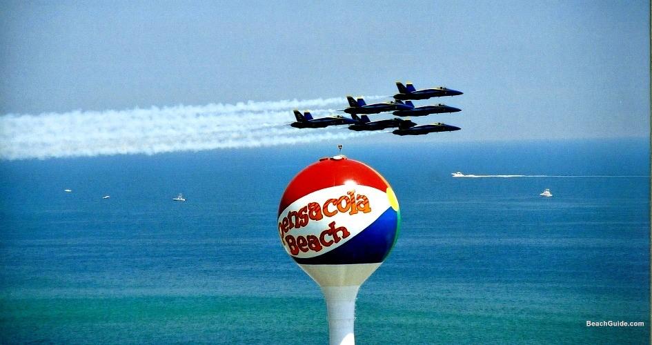 Blue Angels Air Show Pensacola Beach
